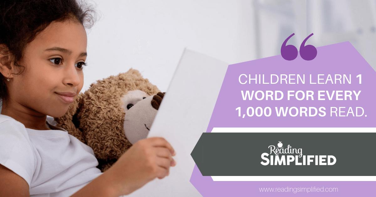A Vision of Voluminous Vocabulary