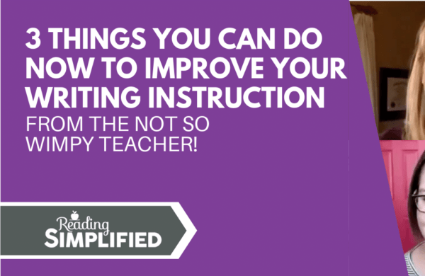 3 things not so wimpy teacher writing