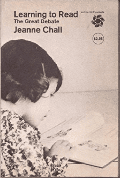 Learning to Read book_Jeanne Chall reduced
