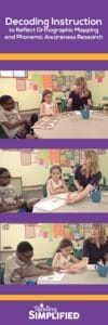 orthographic mapping and phonemic awareness research pinterest