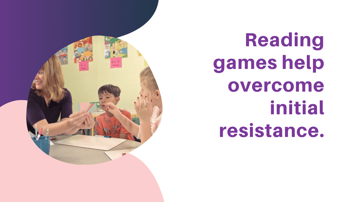Games overcome resistance
