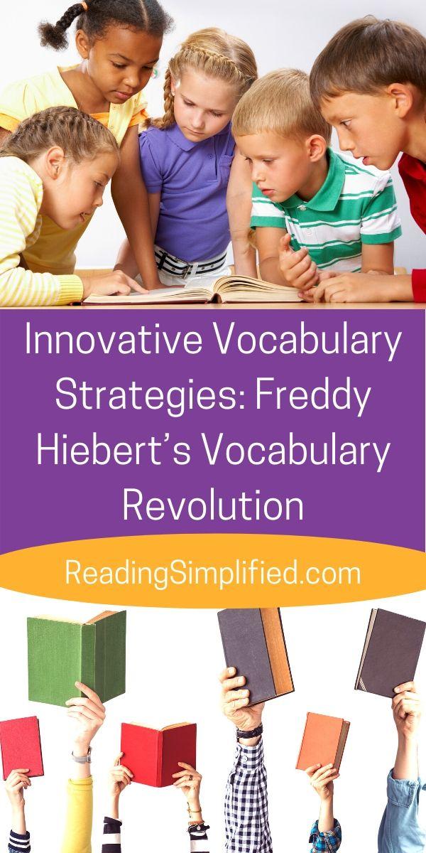 Freddy Hiebert's Vocabulary