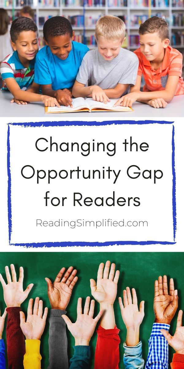 Changing the Opportunity Gap for Readers