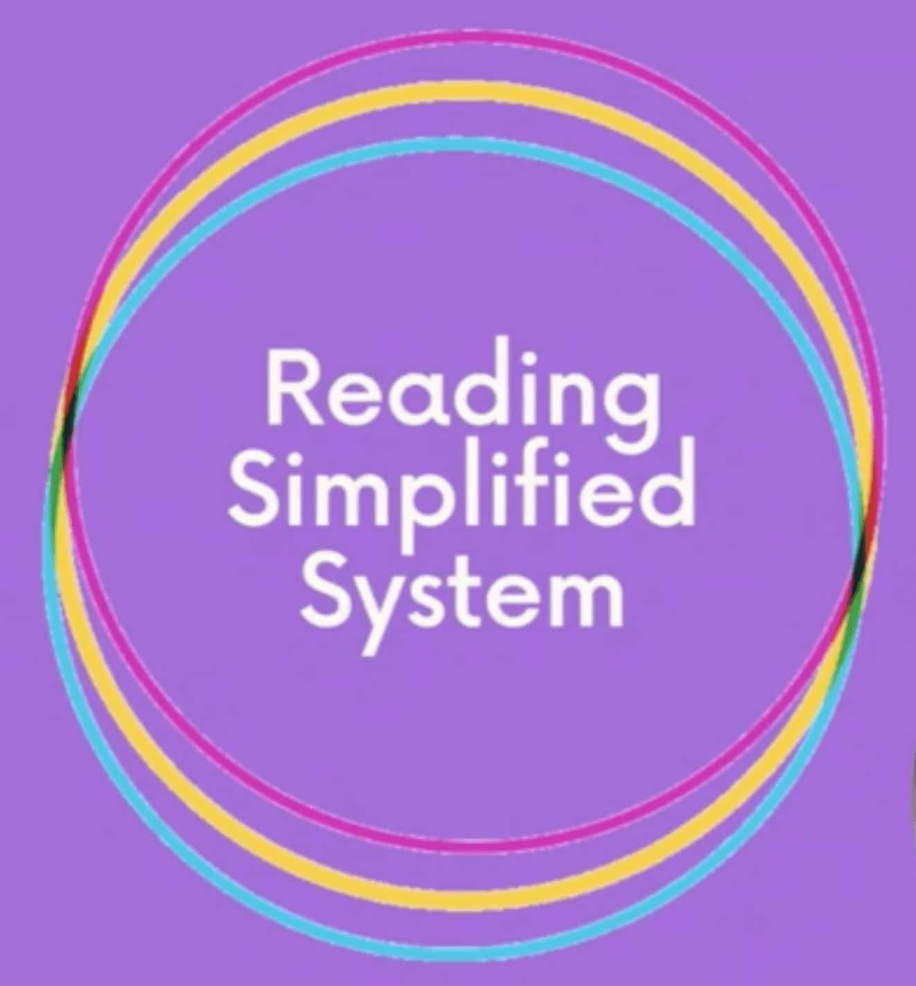 Reading Simplified System sweet spot of explicit phonics instruction