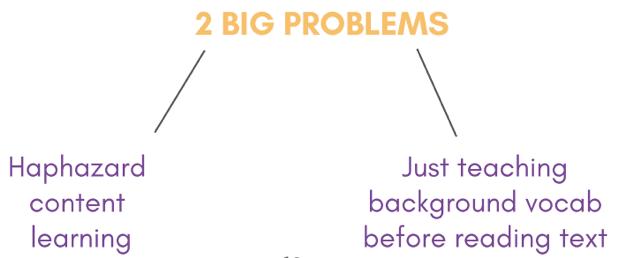 2 big problems
