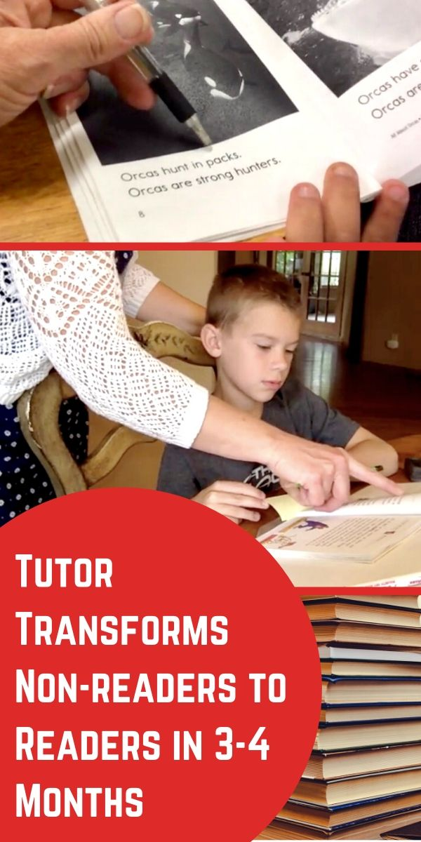 Tutor Transforms Non-readers to Readers in 3-4 Months