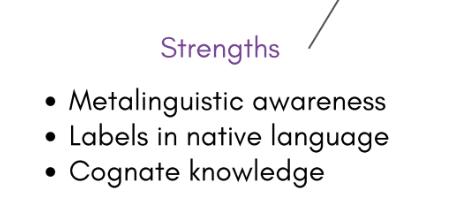 ELL strengths