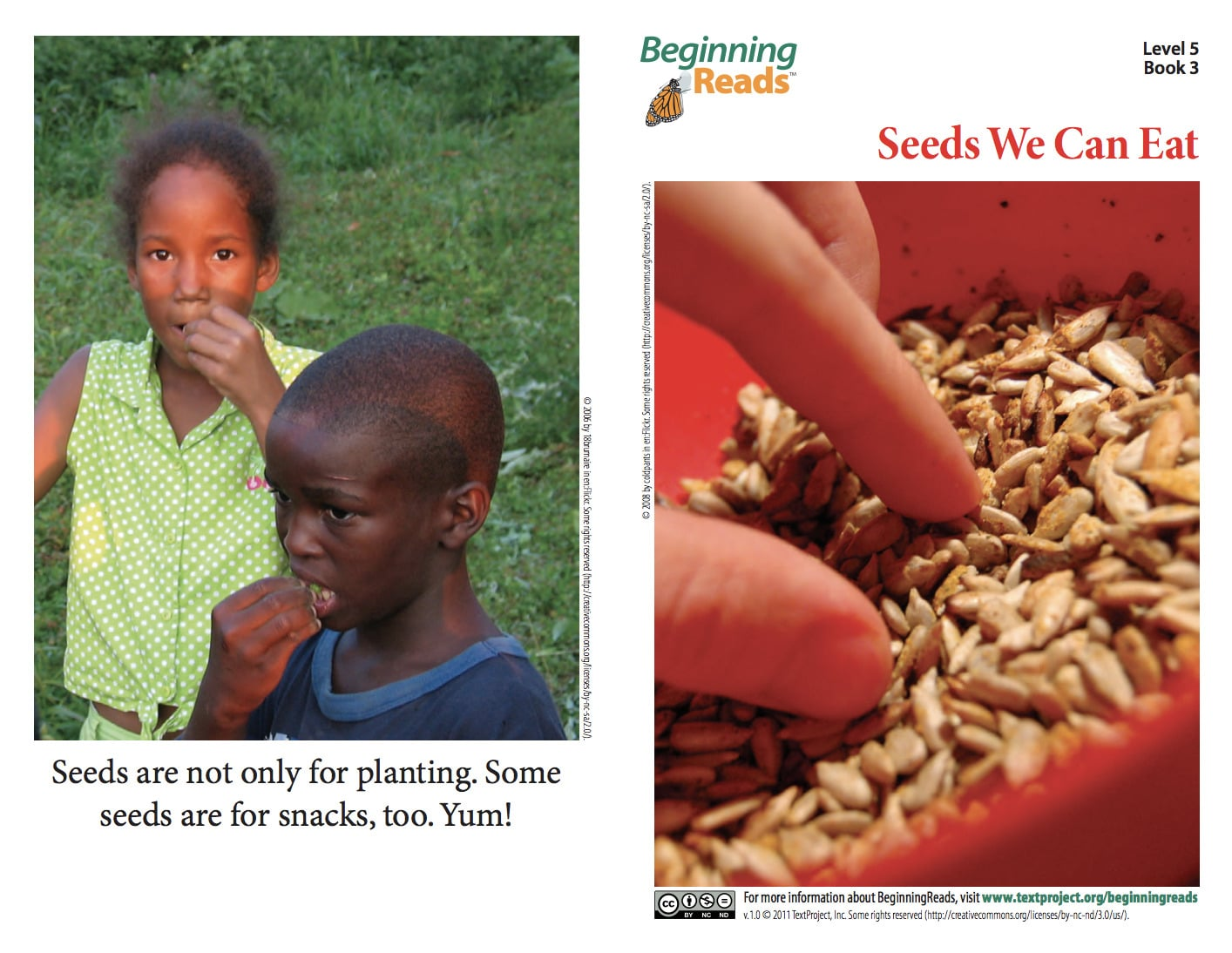 BeginningReads - seeds we can eat