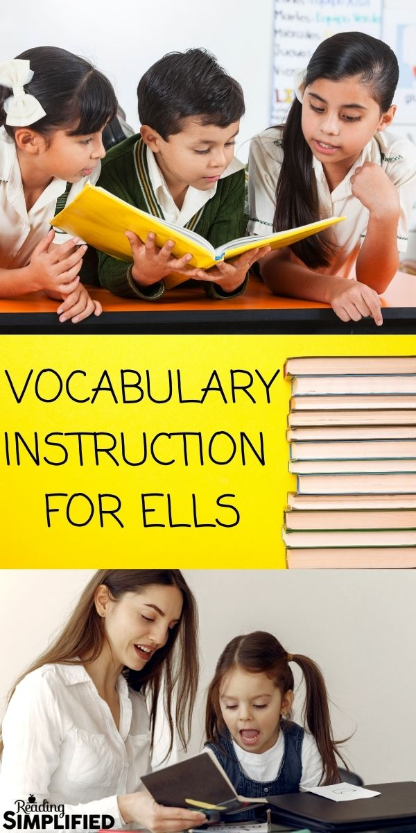 Vocabulary Instruction for ELLs
