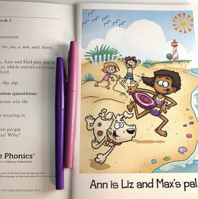Whole Phonics Ann is Liz and Max's Pal book image