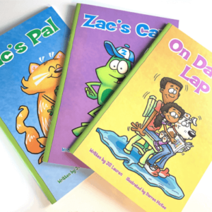 Whole Phonics book covers