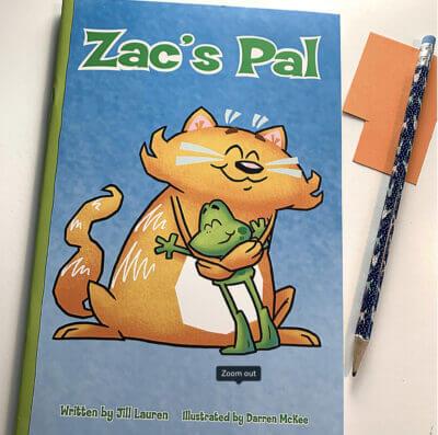 Whole Phonics Zac's Pal book cover