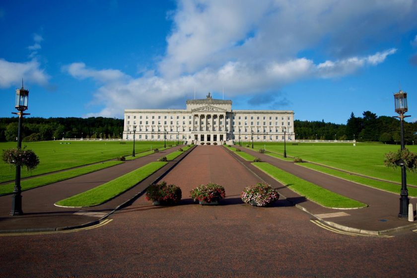 Ulster travel: Stormont Castle, Co Down