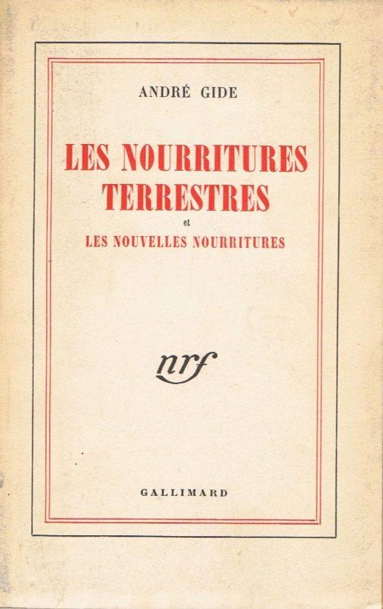 "André Gide ""Les nourritures terrestres"""