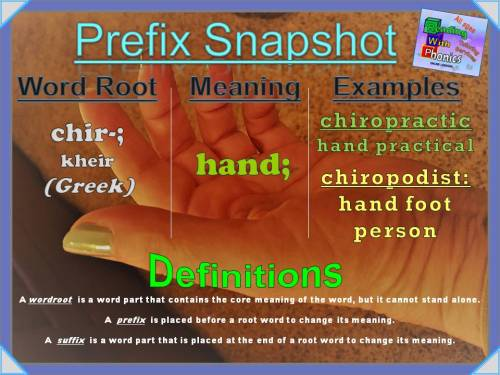 chir- Prefix Snapshot