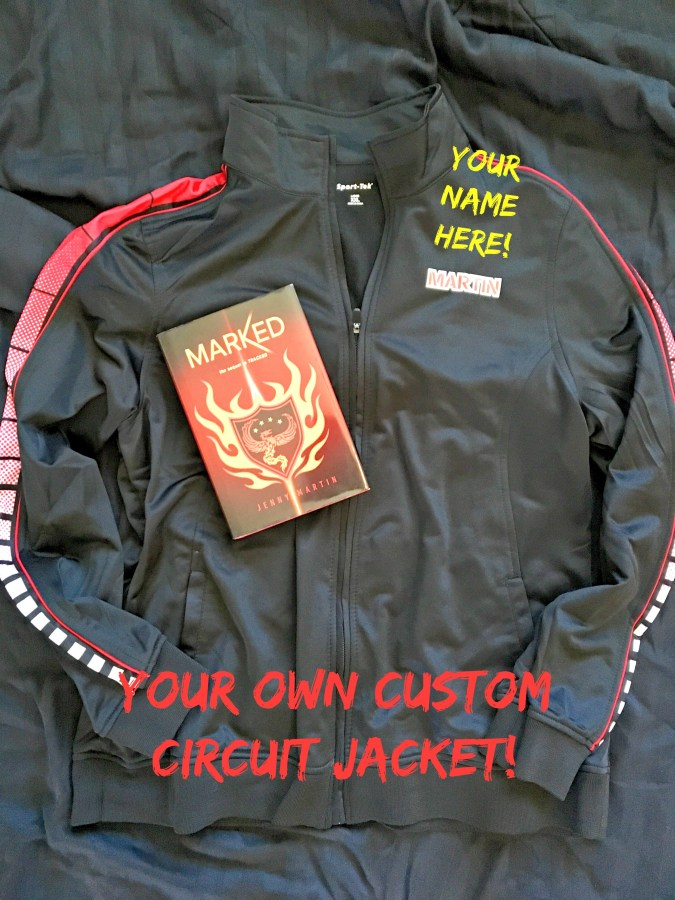 Marked Jacket Front