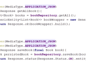 Java EE: Working with JAX-RS @Consumes and @Produces