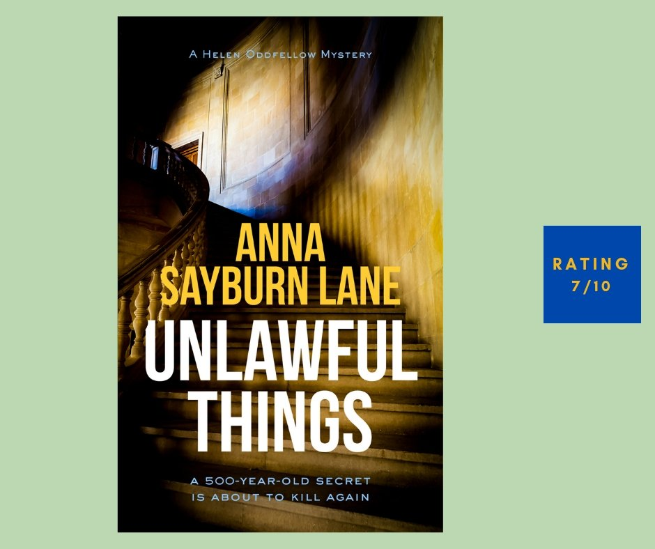 Anna Sayburn Lane Unlawful Things review