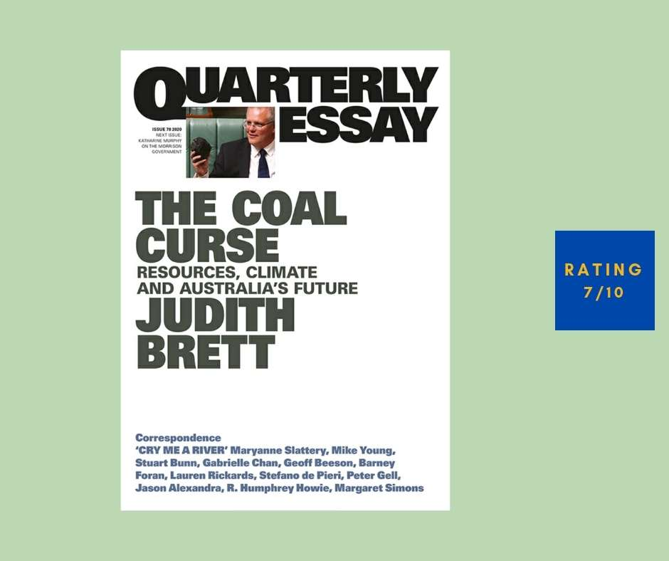 Judith Brett The Coal Curse review