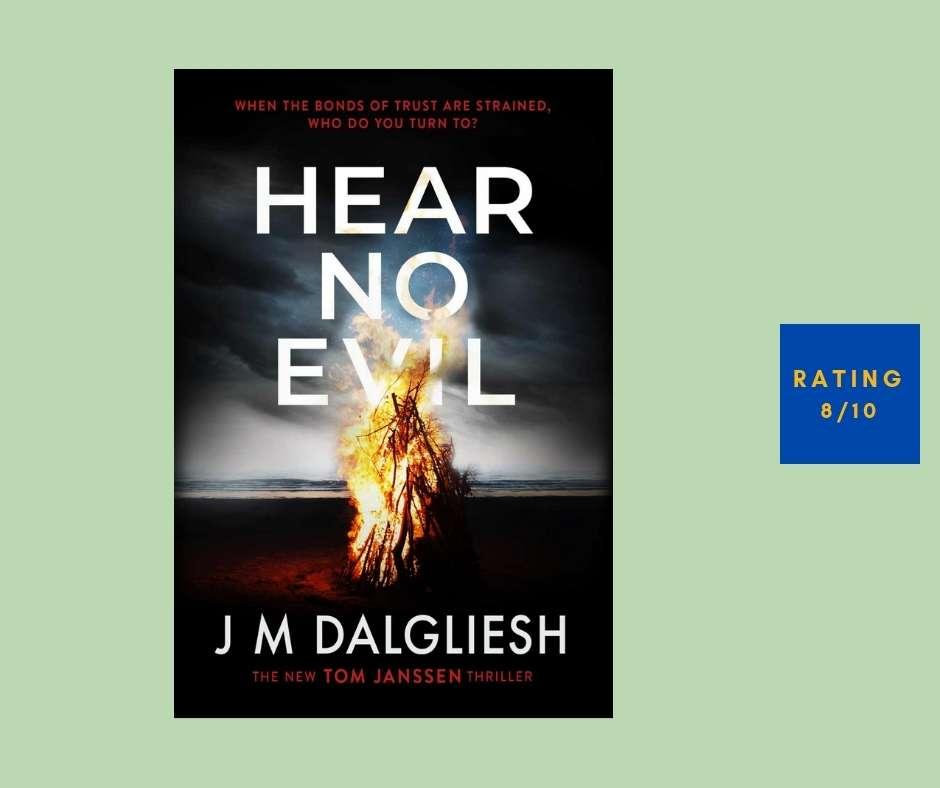 J M Dalgliesh Hear No Evil review