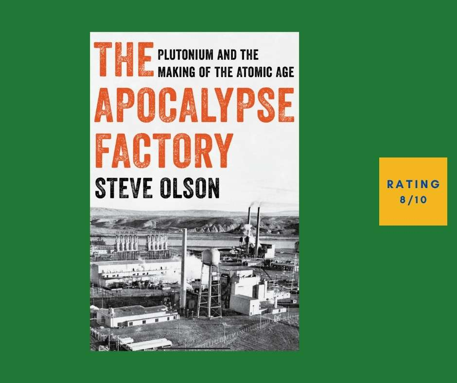 Steve Olson The Apocalypse Factory review