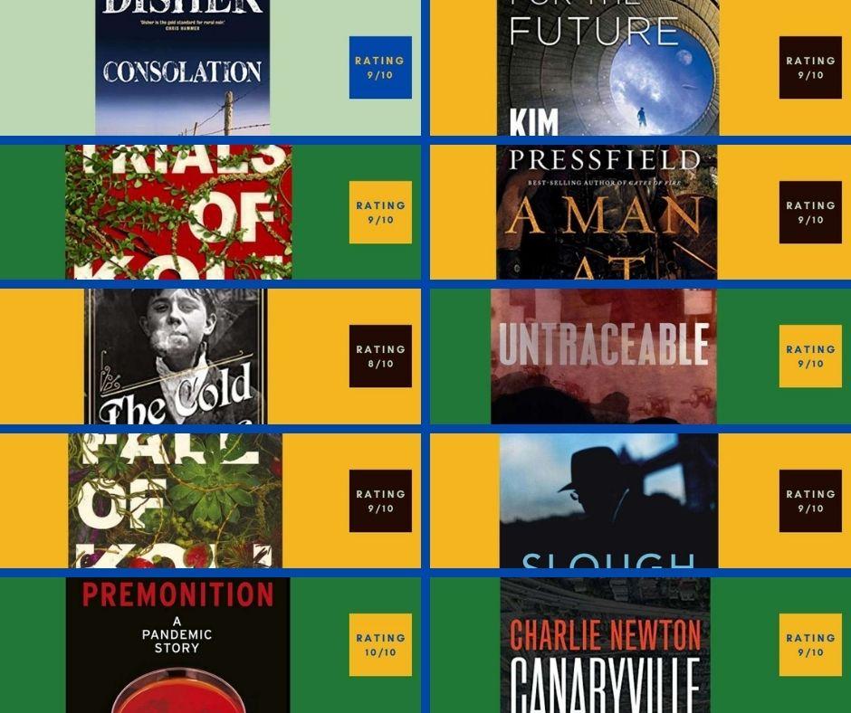 2021 Top 10 Books so far