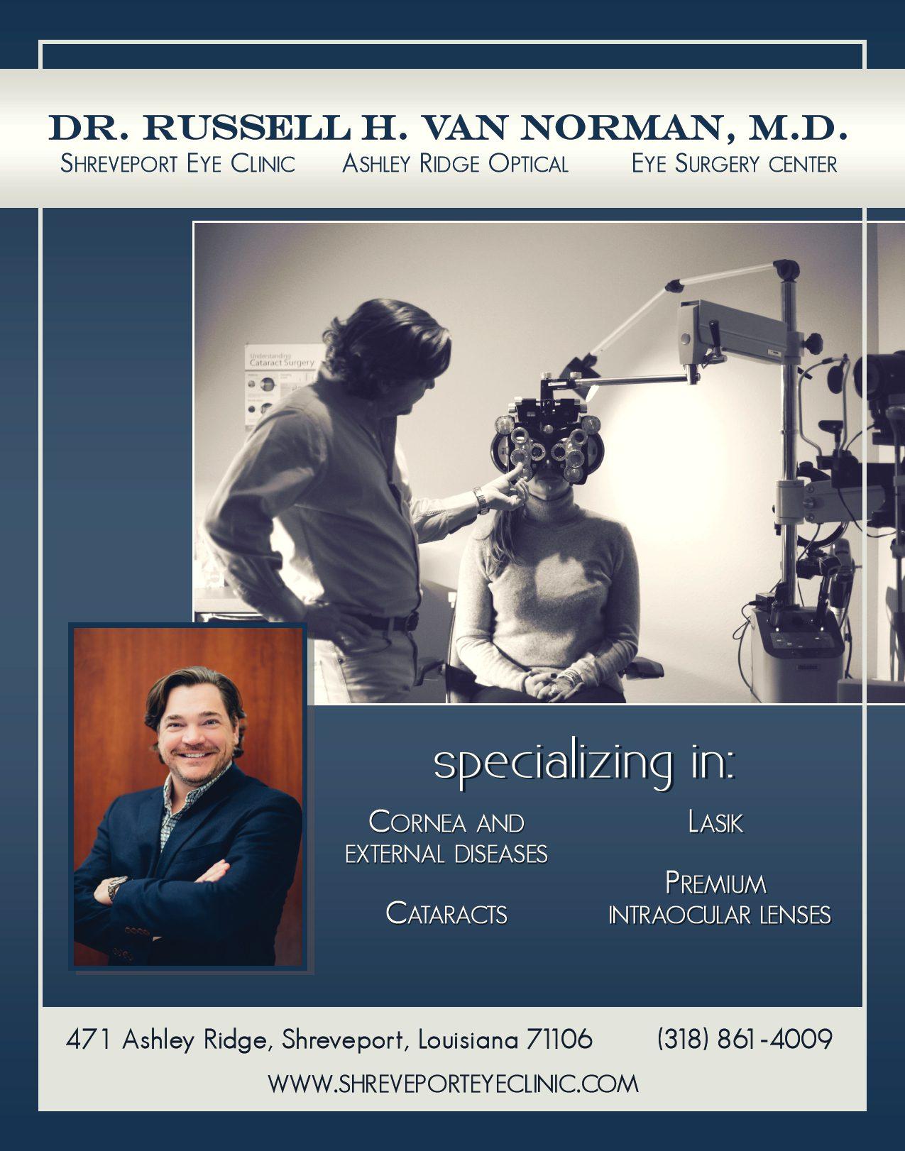Dr Russell H Van Norman M D