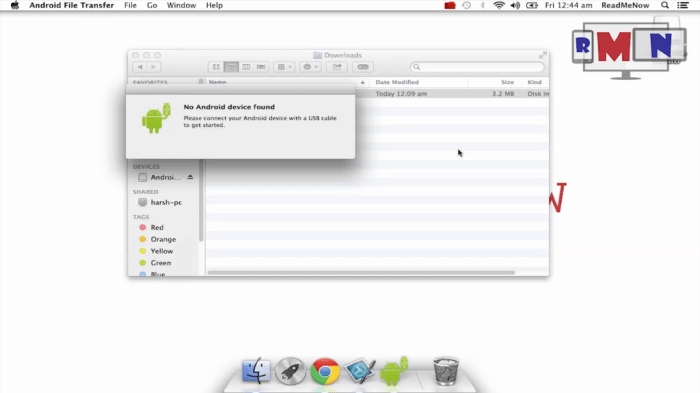transfer files between android and mac