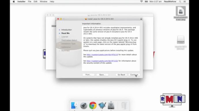 readme java for osx