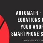 AutoMath