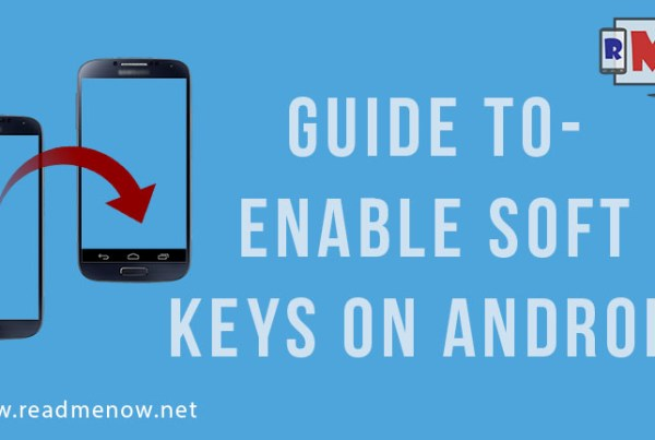 Enable Soft Keys on android