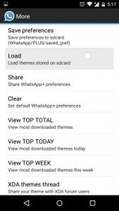 Whatsapp plus material themes