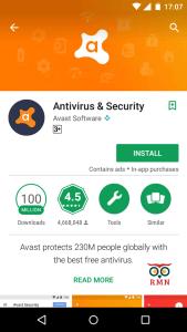 phone overheating antivirus