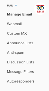 Manage Email Dreamhost