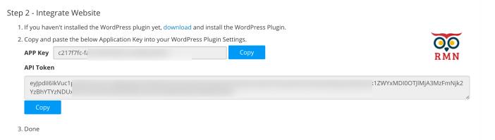 Website Settings API