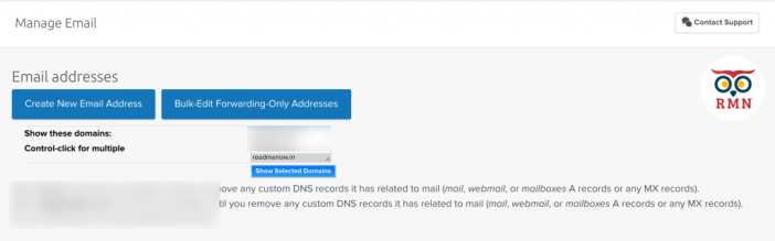 Create a New Email Address Dreamhost