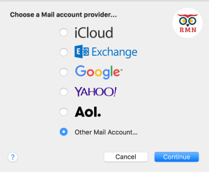 Mail Accounts