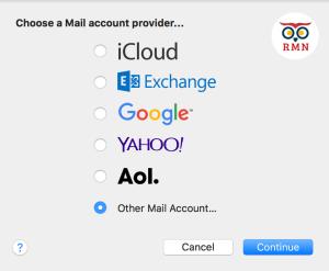 Mail Accounts