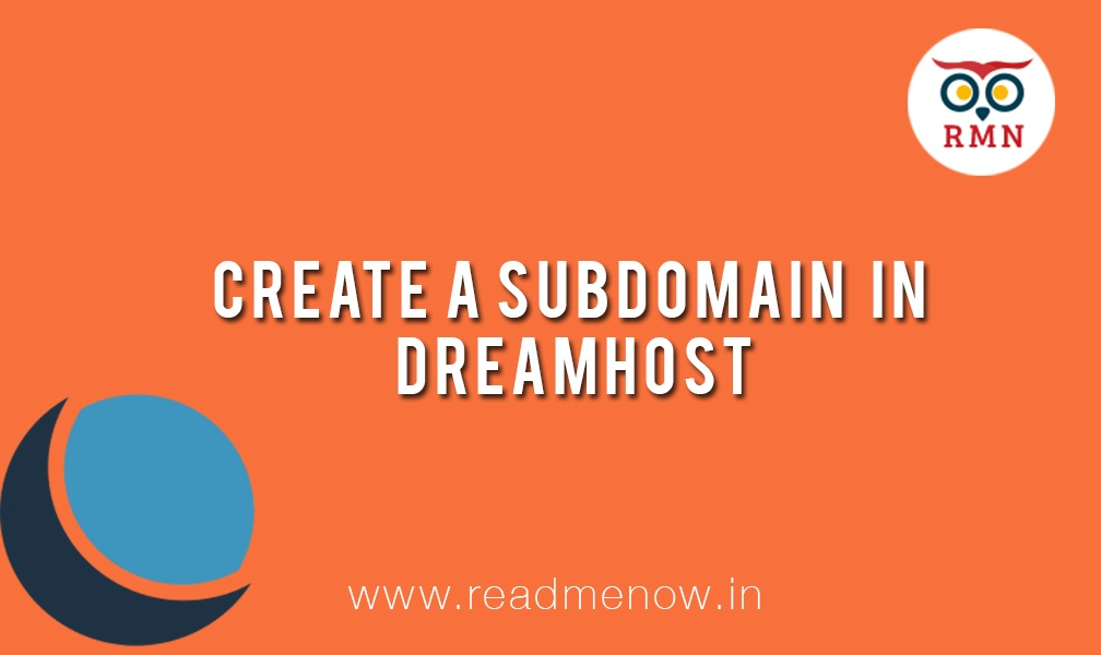 Create a Subdomain in Dreamhost