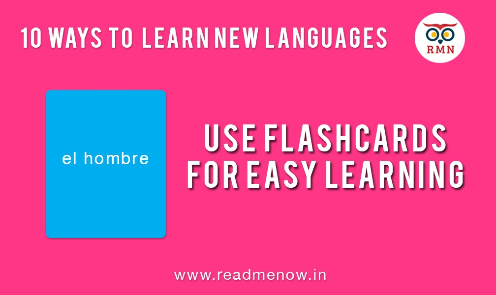 Flashcards for easy learning