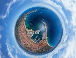 Cферическая панорама Канн.