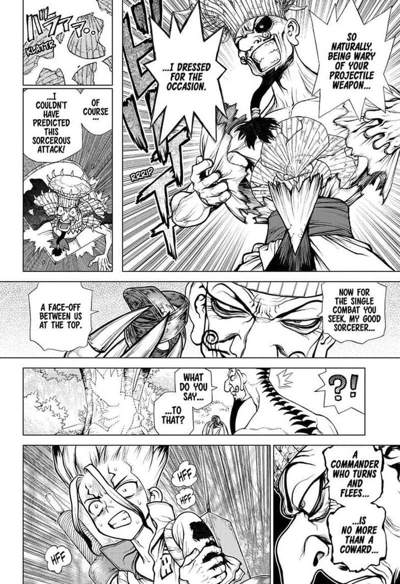 Dr. Stone : Chapter 136 - Medusa VS Science image 004