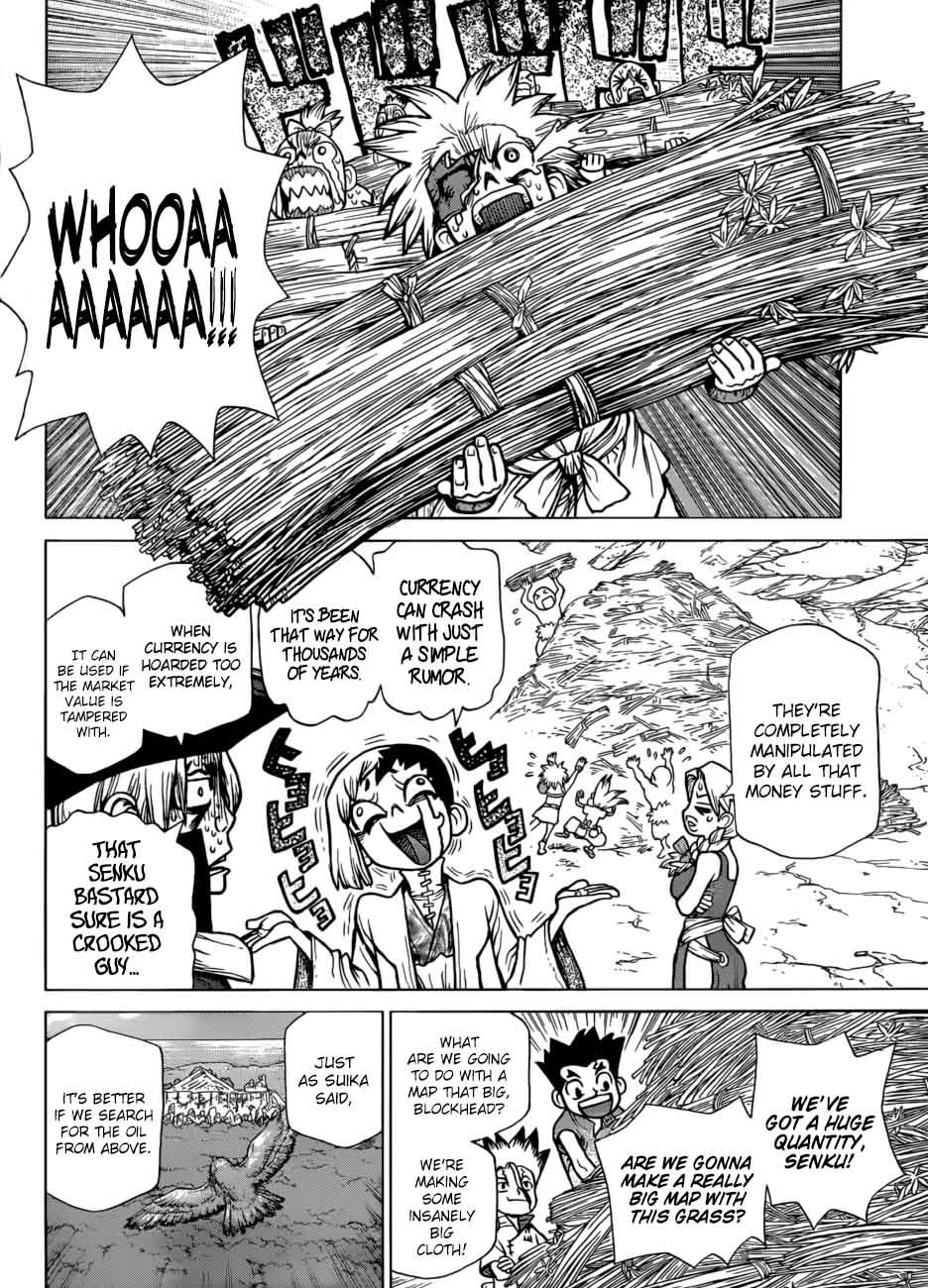 Dr. Stone : Chapter 86 - Money image 016