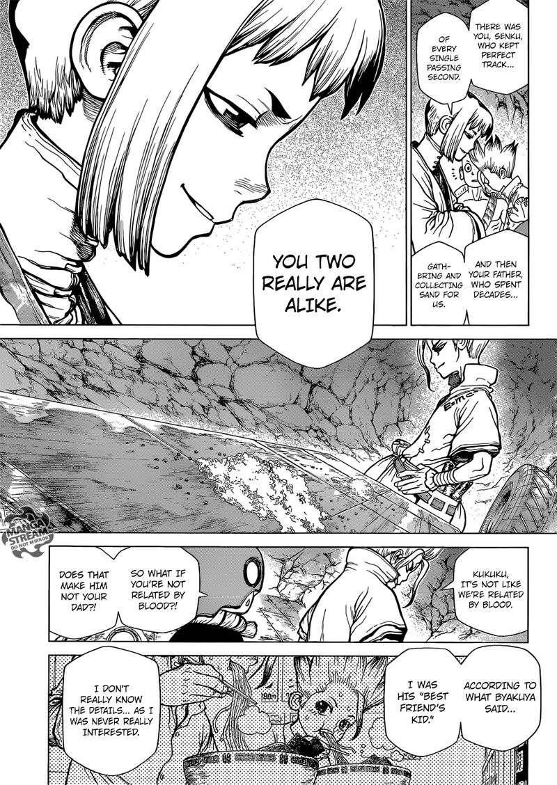 Dr. Stone : Chapter 115 - One second and one grain image 017