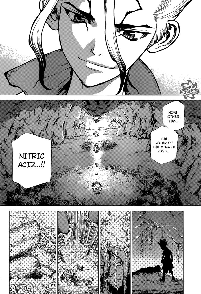 Dr. Stone : Chapter 116 - Miracle in your Hands image 002