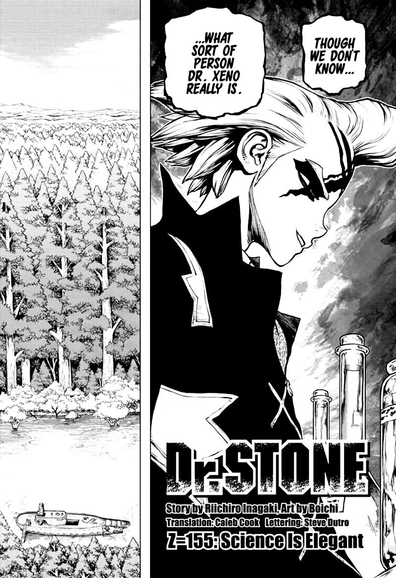 Dr. Stone : Chapter 155 - Science is Elegant image 003