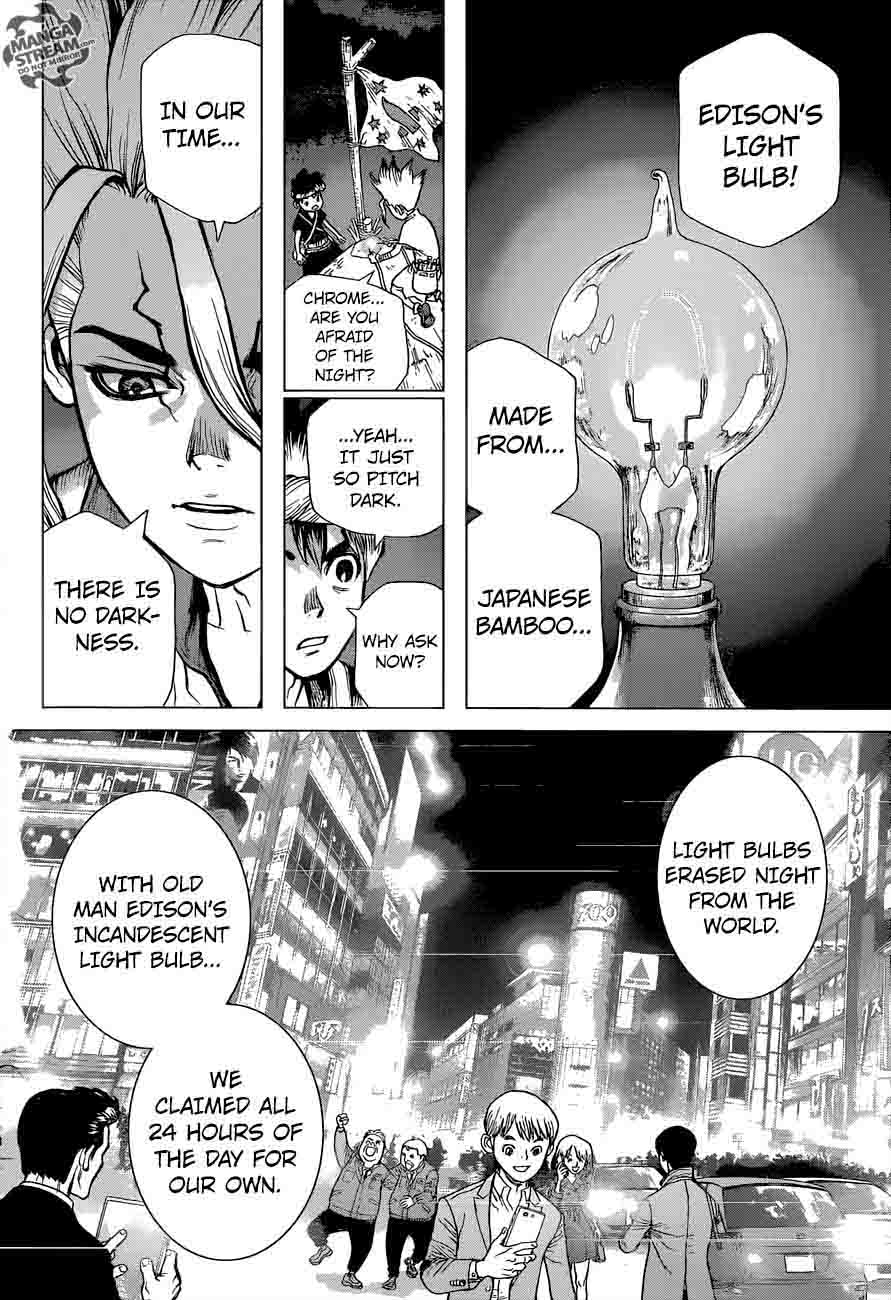 Dr. Stone : Chapter 25 - In this hand, I hold the light of science! image 014