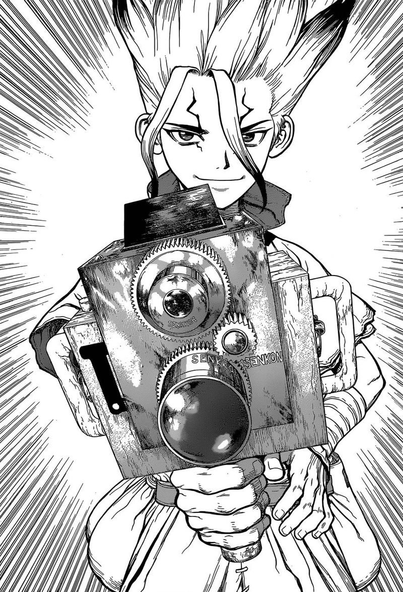 Dr. Stone : Chapter 93 - The First Shot of You image 008