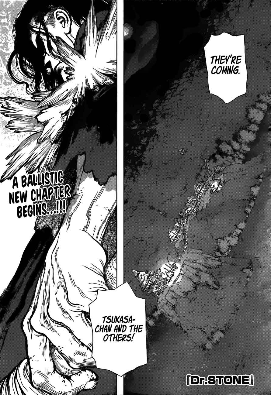 Dr. Stone : Chapter 46 - Stone Wars image 001