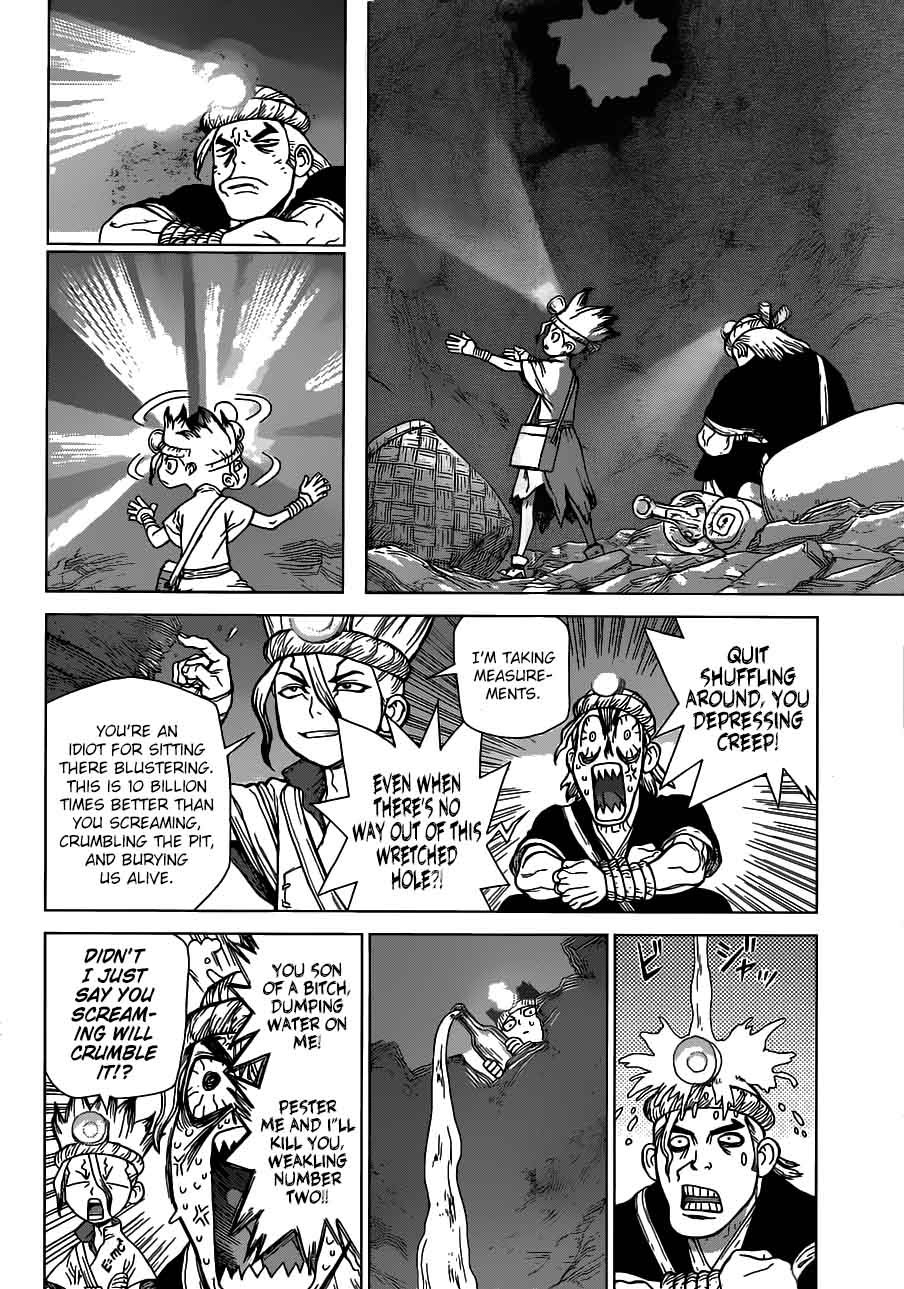 Dr. Stone : Chapter 55 - Treasure Dungeon, Push Start! image 012